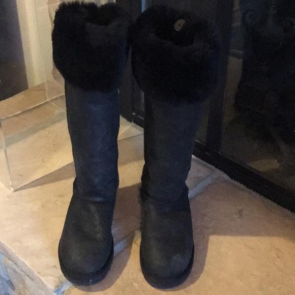 826891de6f8 UGG Tall Black Boots NWOT